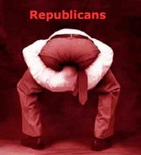 republicans head ass