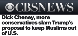 muslim headlines cheney