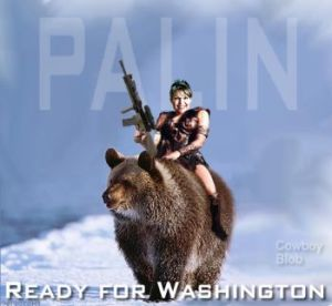 palin grizzley bear