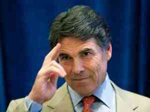 rick perry salute