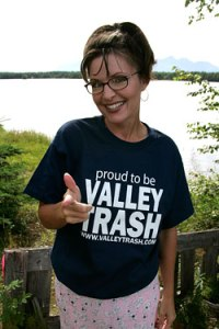 sarah palin valley trash