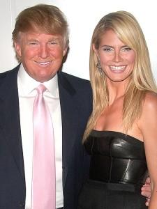 trump and klum