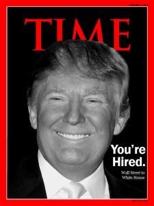 trump magazine time