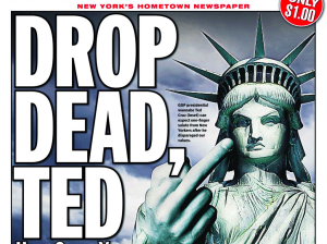 ted cruz-drop dead ny