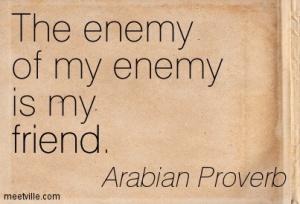 enemy of enemy