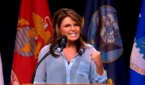 palin clenching teeth