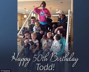 todd palin's 50th