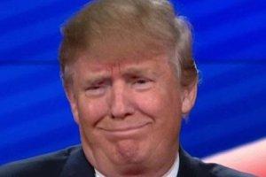 trump funny face