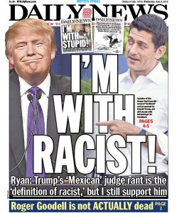 i'm with racist