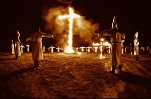 kkkcross burning