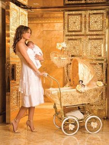 melania trump baby carriage