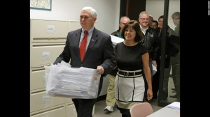 mike pence and wife two