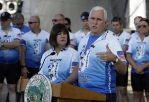 mike pence and wife