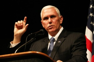 pence pointing