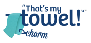 that's my towl charm logo