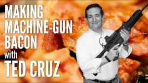 cruz machine gun bacon