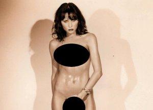 melania trump naked