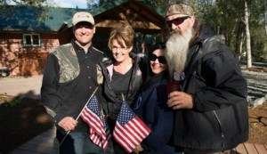palin duck dynasty palin in white house