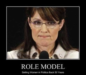 palin setting women back