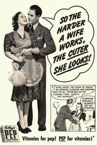 vintage ad one