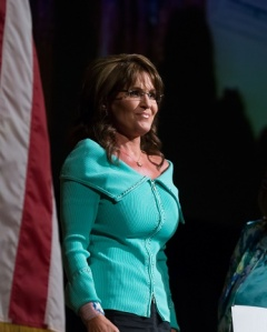 April 26, 2013: Sarah Palin addresses The Women's Resource Medical Centers of Southern Nevada at The Rio All Suite Hotel in Las Vegas, Nevada. Mandatory Credit: INFphoto.com Ref: infusny-244 sp 