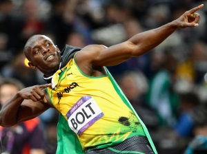 usane bolt pointing one