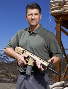 STARS EARN STRIPES -- Season: 1 -- Pictured: Todd Palin -- (Photo by: Chris Haston/NBC)