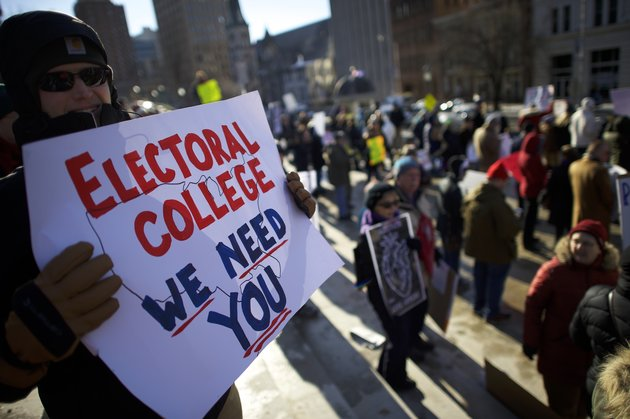 What is the number of electors in the electoral college?
