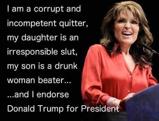 Image result for palin corrupt