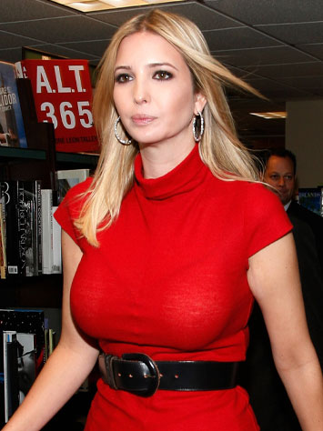 Image result for trump big breasts