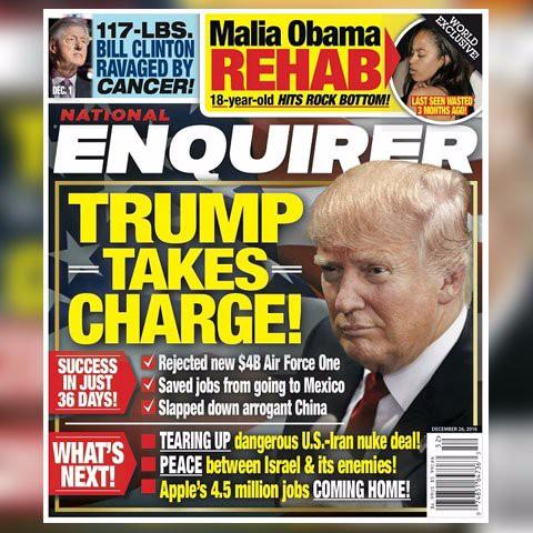 Image result for national enquirer trump